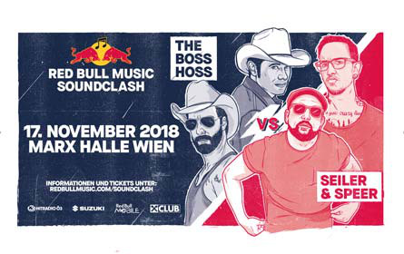 Red Bull Music Soundclash: Das musikalische Battle-Highlight des Jahres