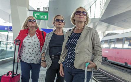 Drei Damen vom Gleis - ÖBB starten neue Content-Kampagne für Senioren