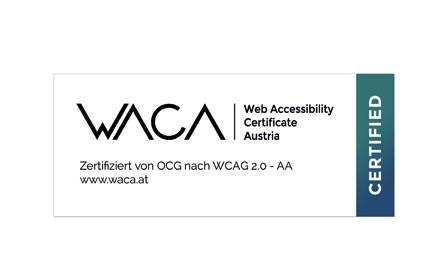 OCG präsentiert das Web Accessibility Certificate Austria