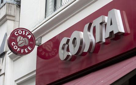 Coca-Cola schluckt Kaffeehauskette Costa