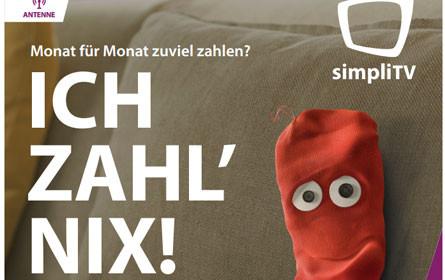 simpliTV startet mit HD-Kampagne in den Herbst