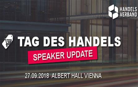 Tag des Handels 2018 - Speakers Update