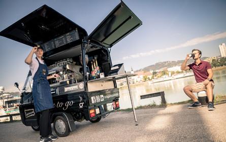 Espressomobil rollt nach Oberösterreich