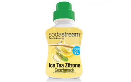 SodaStream Sirup-Neuheit: Ice Tea mit Zitrone