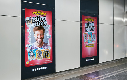 Rubbellos presents Bling Bling via Out of Home