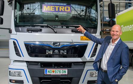 Metro macht elektromobil: eTruck in der Zustellflotte