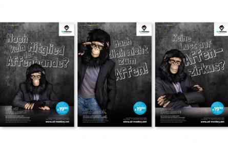 Ein Affentheater für Ad-Monkey