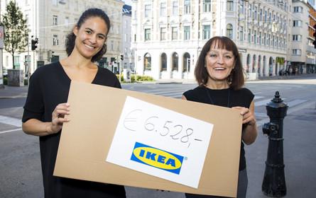 Ikea übergibt Grätzlfest-Einnahmen an lobby.16