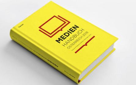 """""""Medienhandbuch Österreich 2018"""" ist ab sofort erhältlich"""