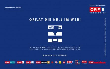 Klickbare Größe: Das werbestarke ORF.at-Network