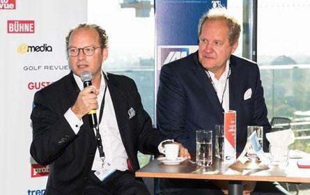 Moritz von Laffert im Gespräch mit IAA-Präsident Walter Zinggl