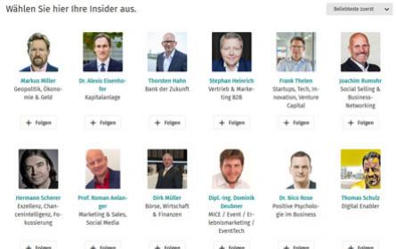 Xing holt News-Format Xing Insider nach Österreich