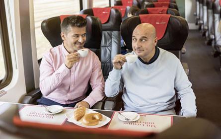 """Kampagne """"ÖBB Railjet. Verbindet, was mir wichtig ist!"""""""