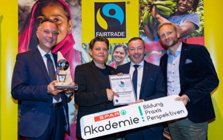 Award für Fairtrade-Zusatzausbildung bei Spar