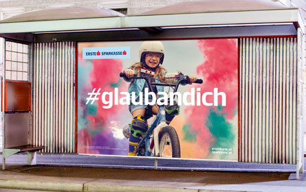"Erste Bank Kampagne: ""Don't stop me now!'"""