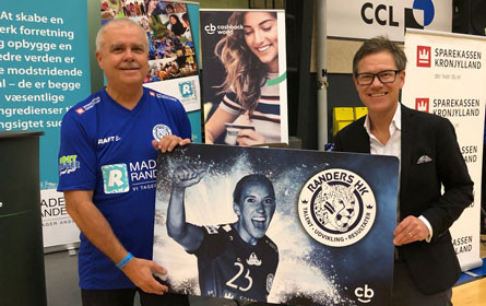Kooperation von Cashback World und der Randers HK