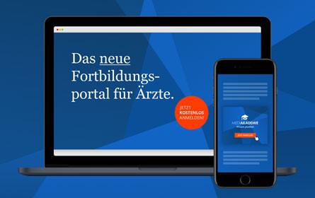 Tunnel23 gestaltet für Boehringer-Ingelheim den Markenauftritt für die MediAkademie