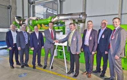20.000ster Jenbacher Gasmotor geht an Milchwerke Oberfranken