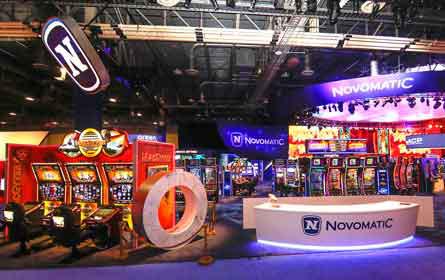 Novomatic präsentiert sich in Las Vegas