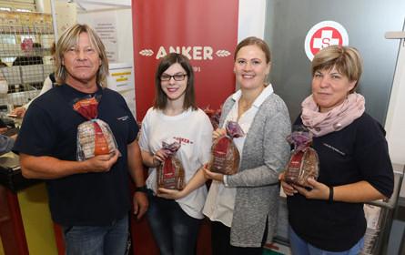 Anker unterstützt Sozialmärkte zum Welthungertag