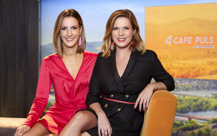 Johanna Setzer und Barbara Fleißner übernehmen Puls 4-Frühstückscouch