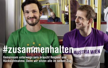 Wiener Linien setzen Austrianer und Rapidler zusammen