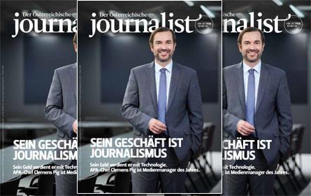 """Clemens Pig ist  """"Medienmanager des Jahres"""""""