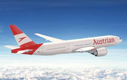 Erster von 36 Airbus Flugzeugen mit neuem Austrian Logo