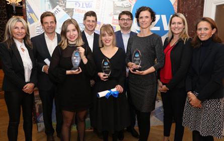 Fünf Sieger beim Österreichischen Zeitschriftenpreis 2018