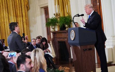CNN verklagte Weißes Haus wegen Aussperrung von Reporter