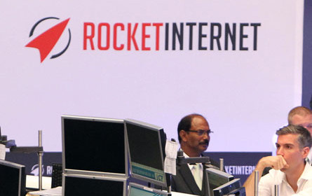 Modegruppe von Rocket Internet verringerte Verlust