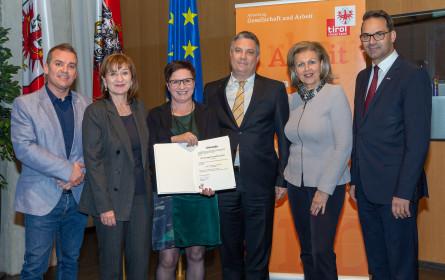 dm für Lehre in Tirol ausgezeichnet
