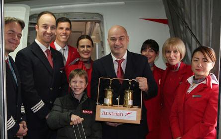 Alle Jahre wieder: ORF-Friedenslicht fliegt mit Austrian Airlines