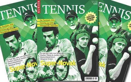 "Jahrbuch ""Kurier Tennis"" kommt"
