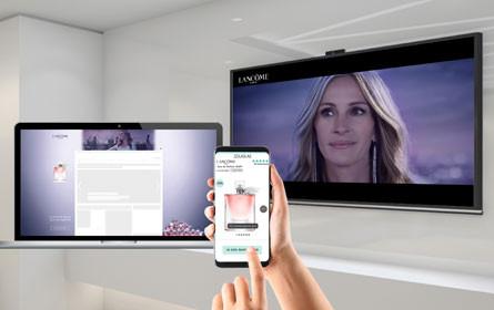 Lancome und iBeauty vertiefen erstmals Smart TV-Kontakte online