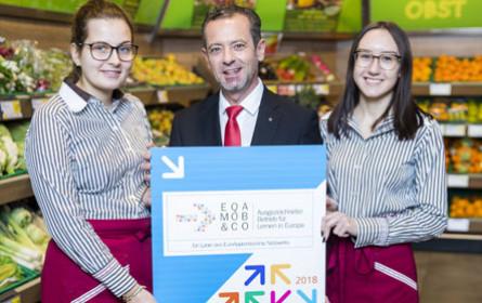 Auszeichnung für die Spar-Zentrale St. Pölten