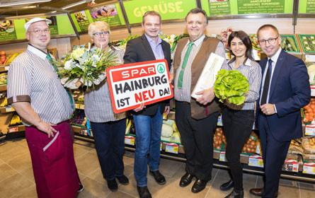 Spar ist neu da in Hainburg