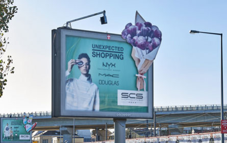 """Unexpected"" Shopping City Süd am Rolling Board"