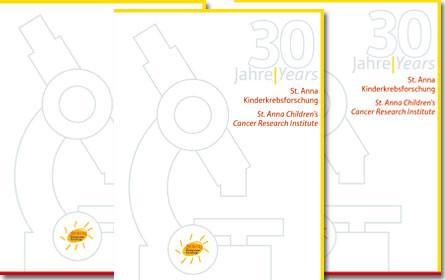VGN Corporate Publishing erstellt Festschrift anlässlich des 30. Jubiläums der St. Anna Kinderkrebsforschung