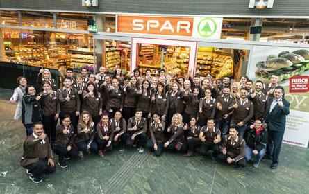 Spar-Supermarkt Hauptbahnhof nach Umbau wiedereröffnet