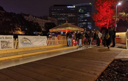Gewinnspiel: Sportliche Hüttengaudi am Donaukanal