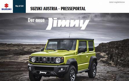 Suzuki Austrias neues Presseportal geht online