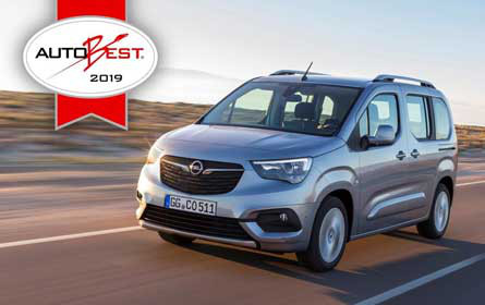 "Neuer Opel Combo Life ist das ""Best Buy Car of Europe 2019"""