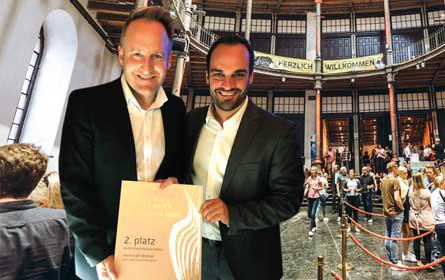 1. Vienna Gin Festival bei EVA Awards versilbert