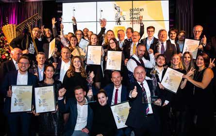Gewista und DMB gewinnen Golden Pixel Award in Gold für Vöslauer