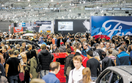 media.at auf der Vienna Auto Show