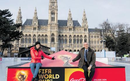 FIFA-Trophäe kommt erstmals nach Wien