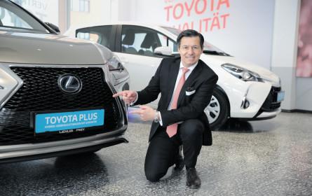 Toyota Plus kommt nun auch nach Österreich