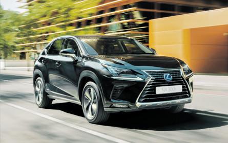 Neue Lexus Privilege-Sondermodelle