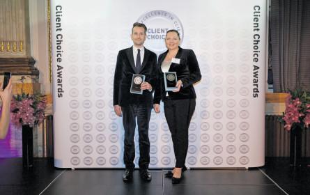 Dorda-Partner Anderl und Brogyányi geehrt